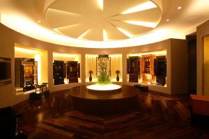9 1階 円形展示スペース